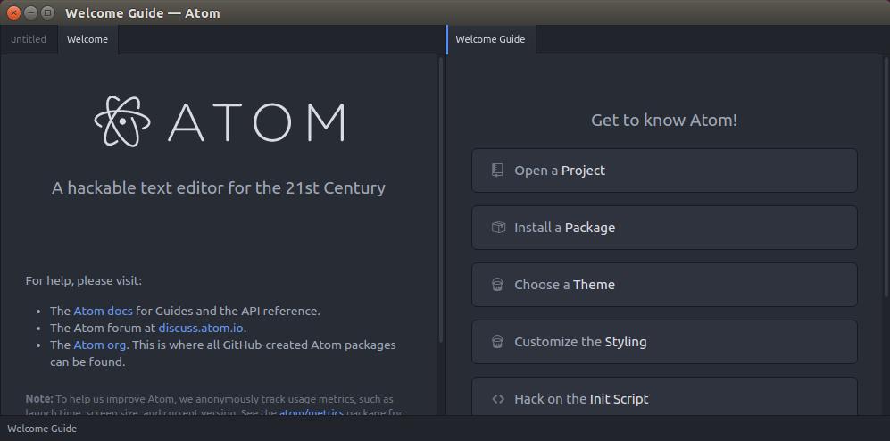 Atom By Github