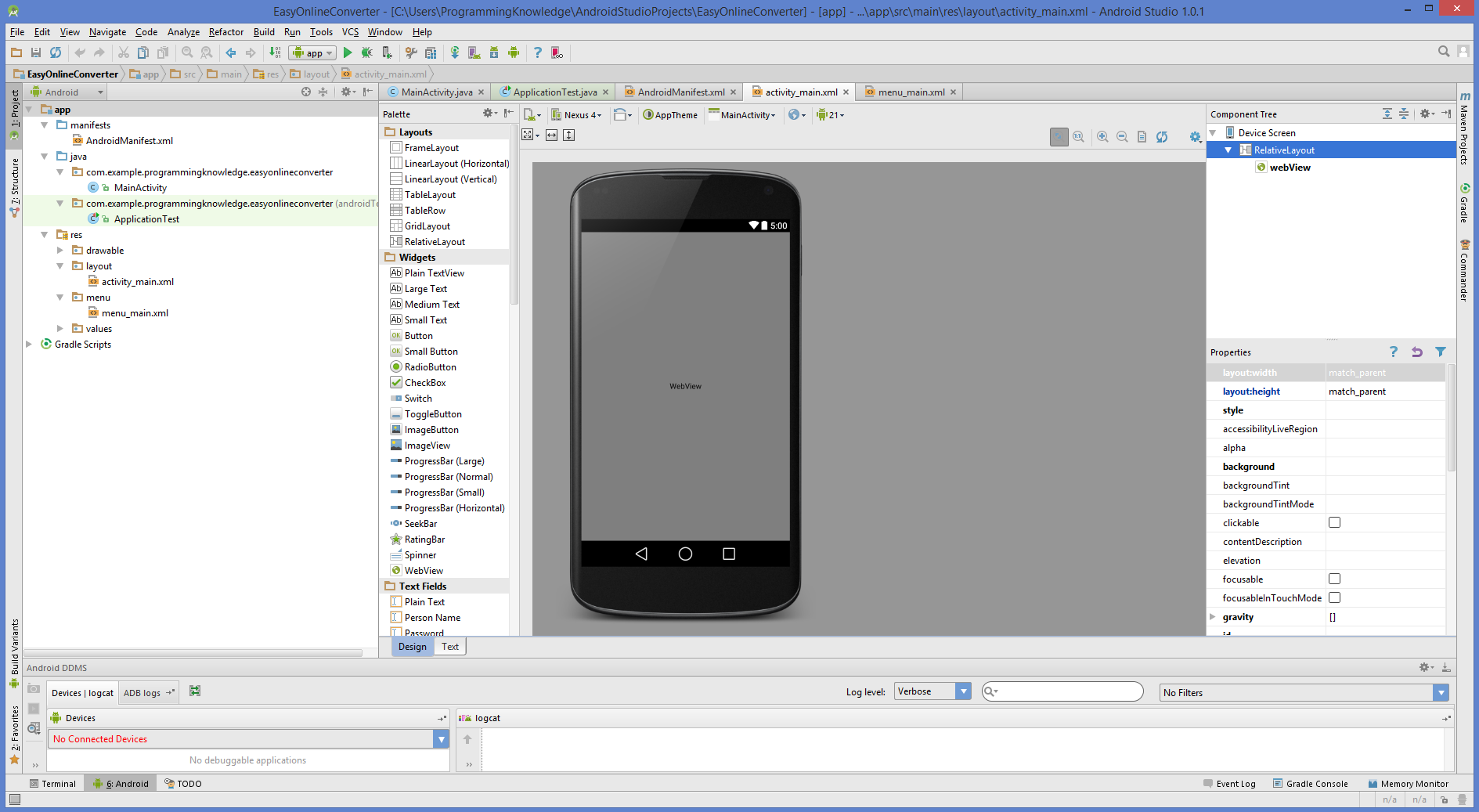 How to convert a website into android application using android studio baditri Image collections