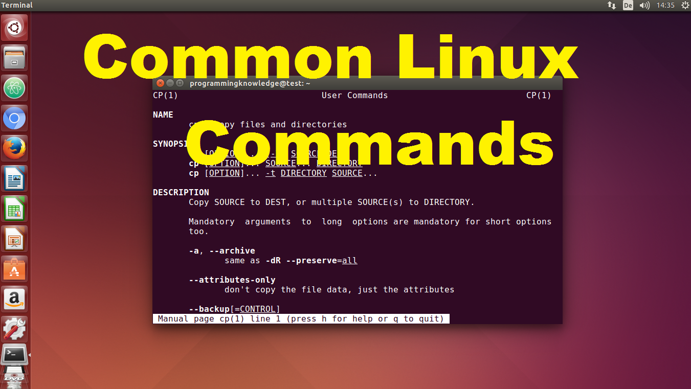 linux tutorial for beginners with exles pdf commonly used
