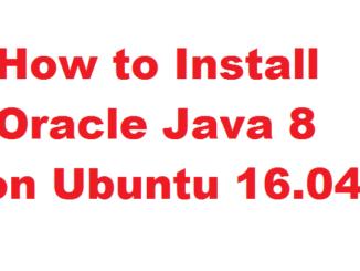 How to Install Oracle Java 8 on Ubuntu 16.04 via PPA
