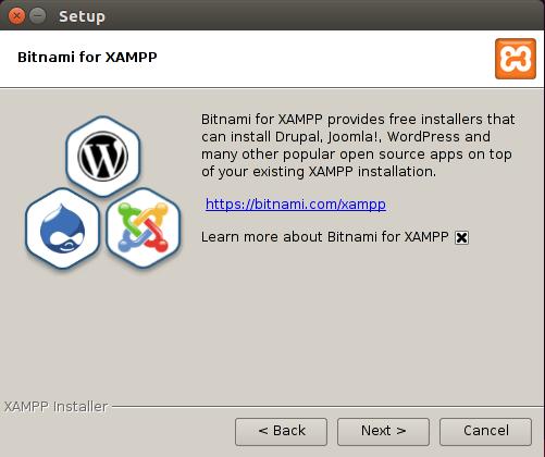 xampp install 3