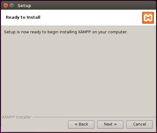 xampp install 4