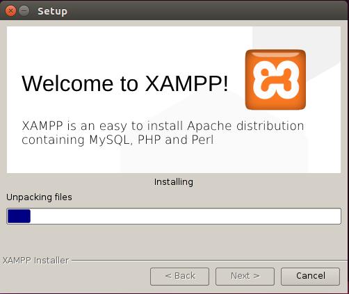 xampp install 5