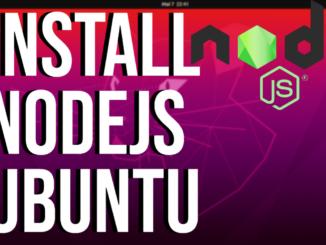 How To Install Node.js on Ubuntu 20.04 LTS
